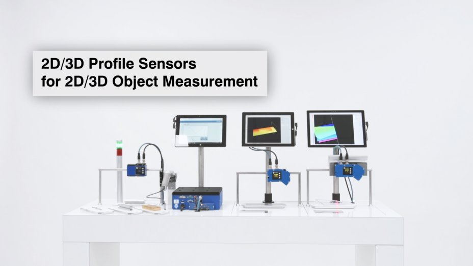 wenglor sensoric - Virtual Trade Show - 2D/3D Profile Sensors for 2D/3D Object Measurement